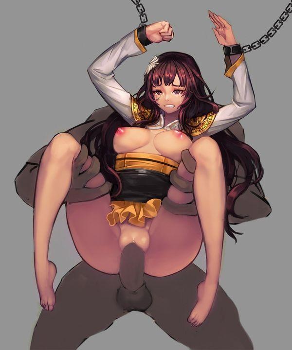 【君はペット】鎖に繋がれレイプ・・・これからの人生を肉便器として過ごす事が確定した女子達の二次エロ画像【10】