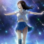 【starrysky】星空と女の子の幻想的な二次画像【IKUZO要素は無い】