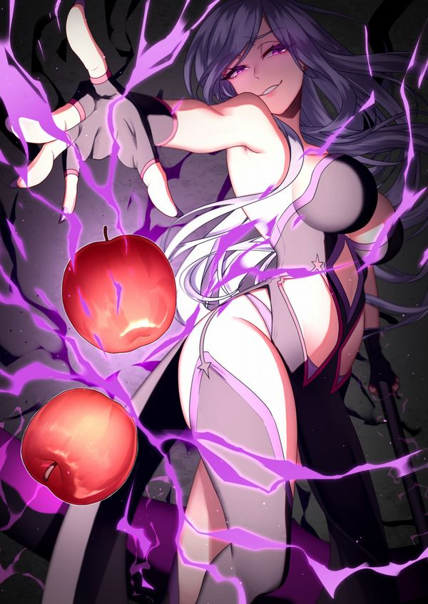 【日本ではまず見ない光景】りんごをそのままかじる女の子の二次画像【37】