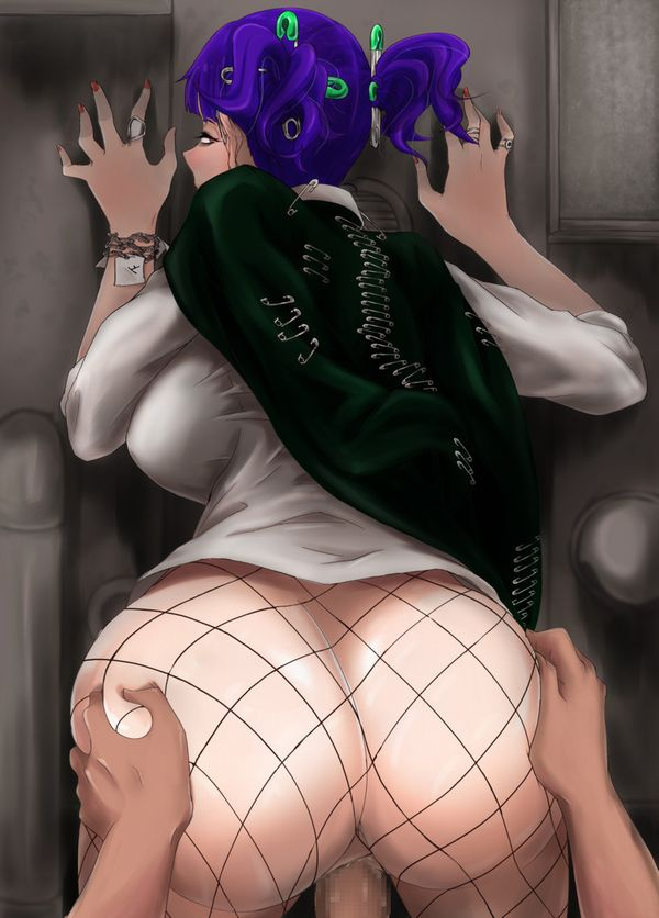 【主観視点】バックで突かれてる真っ最中!な女子達の肛門を愛でる二次エロ画像【39】