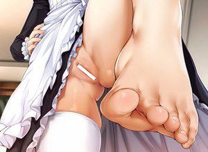 【おしゃぶり昆布代わりに】 女の子の足の指を舐めたくなる二次エロ画像