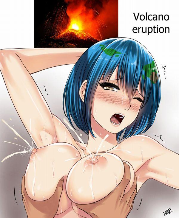 【拡散メガ粒子砲】兵器として使えそうな勢いで母乳が噴出してる二次エロ画像【12】