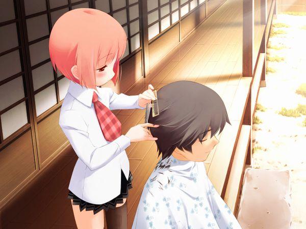 【目指せカリスマ】他人の髪の毛切ってる女の子達の二次画像【3】