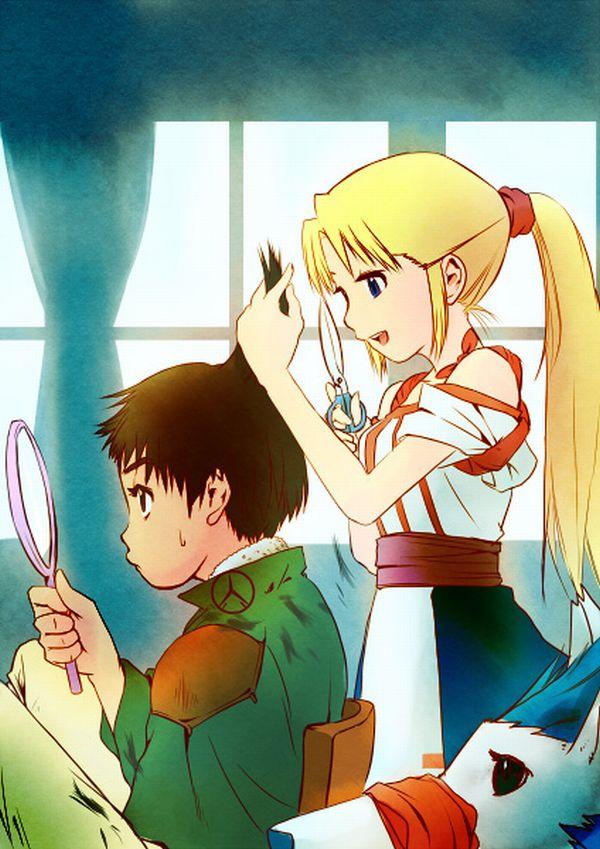 【目指せカリスマ】他人の髪の毛切ってる女の子達の二次画像【22】