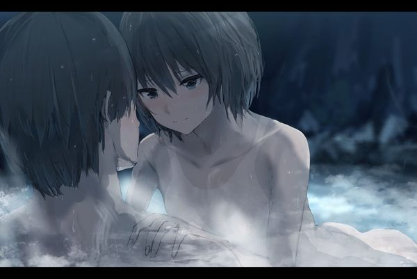【素晴らしき日本文化】混浴温泉の二次エロ画像【15】