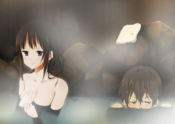 【素晴らしき日本文化】混浴温泉の二次エロ画像【19】