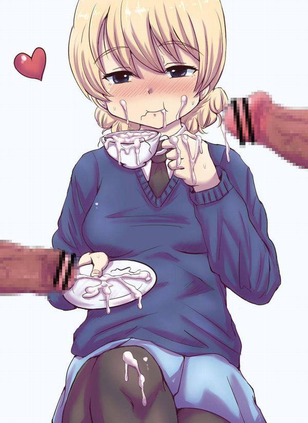 【プロテイン代わり】コップにザーメン絞って飲んでる行儀の良い女子達の二次食ザー画像【8】