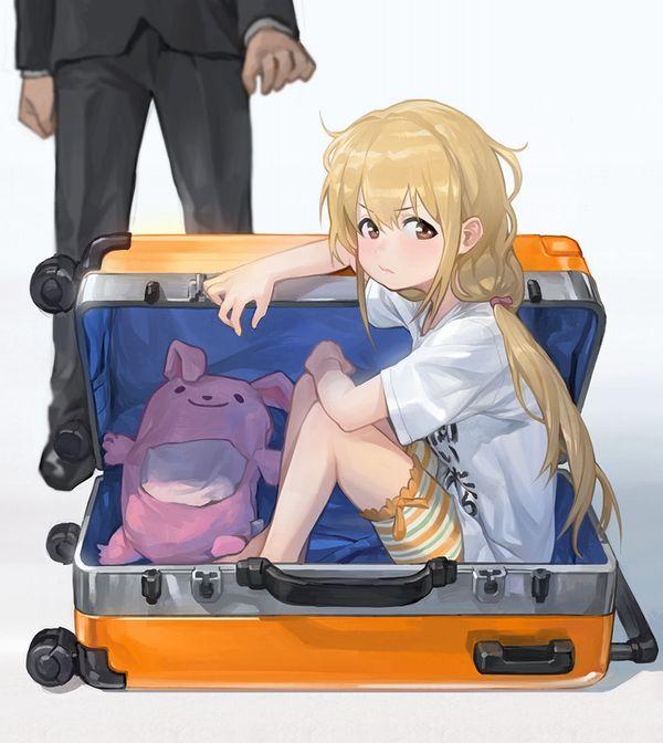 【メキシコの日常】スーツケース開けたら人が!?みたいな二次エロ画像【18】