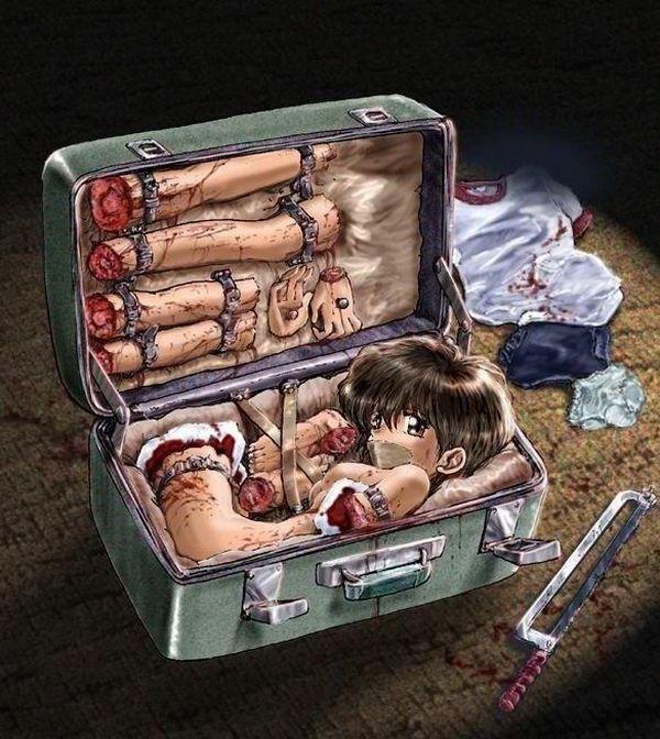 【メキシコの日常】スーツケース開けたら人が!?みたいな二次エロ画像【31】