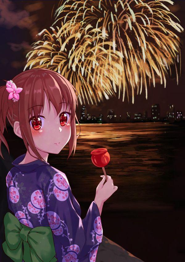 【リア充】デートで花火大会に行きました・・・みたいな二次画像【35】