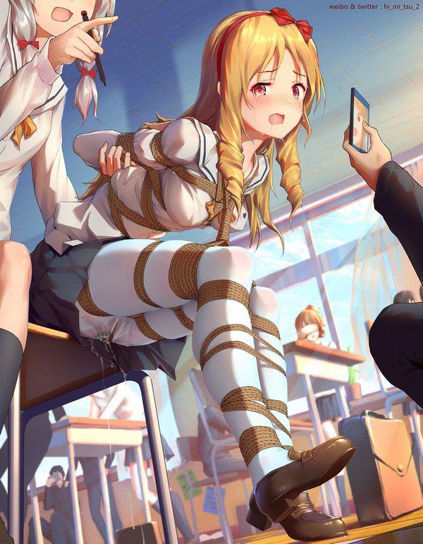 【スクールカースト】学校でイジメを受けてる女子高生の二次エロ画像【3】