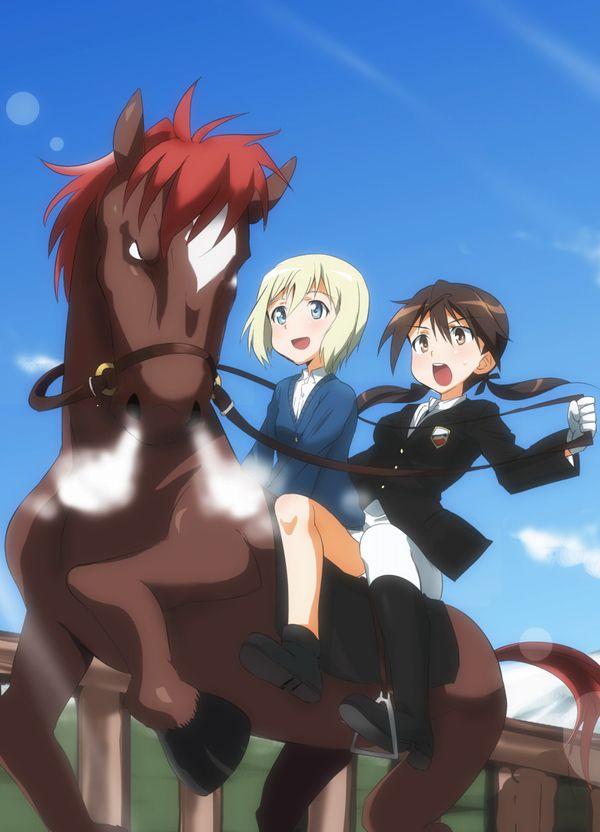 【淑女の嗜み】乗馬を楽しむ女子達の二次画像【7】