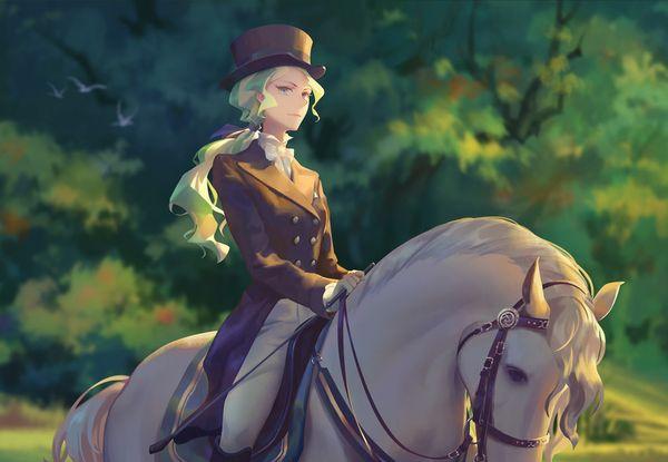 【淑女の嗜み】乗馬を楽しむ女子達の二次画像【8】