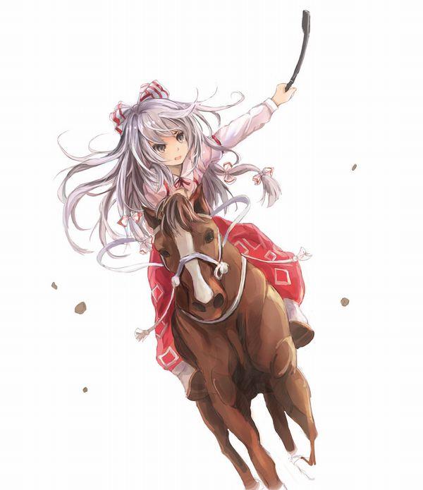 【淑女の嗜み】乗馬を楽しむ女子達の二次画像【10】
