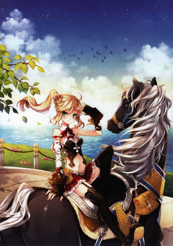 【淑女の嗜み】乗馬を楽しむ女子達の二次画像【29】
