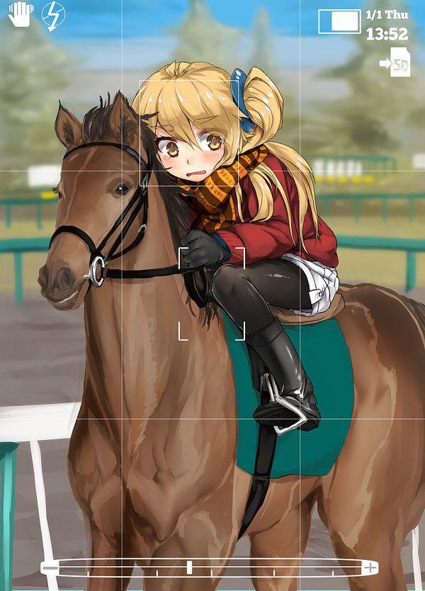 【淑女の嗜み】乗馬を楽しむ女子達の二次画像【35】