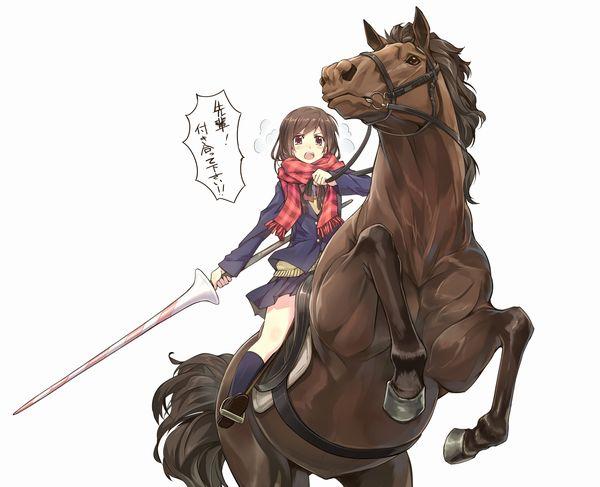 【淑女の嗜み】乗馬を楽しむ女子達の二次画像【38】
