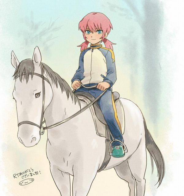 【淑女の嗜み】乗馬を楽しむ女子達の二次画像【39】