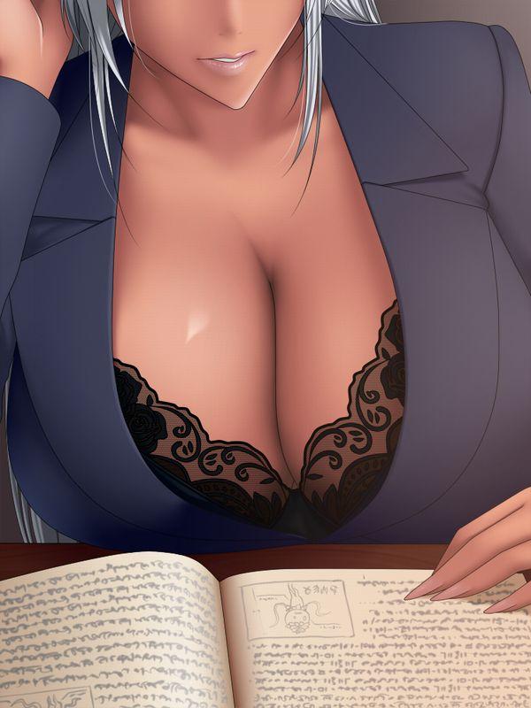【おっぱい接写】着衣の巨乳をガン見してるような二次エロ画像【16】