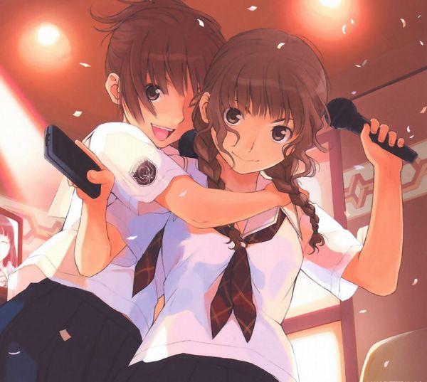 【みんな踊れー】カラオケを楽しむ女子達の二次エロ画像【23】