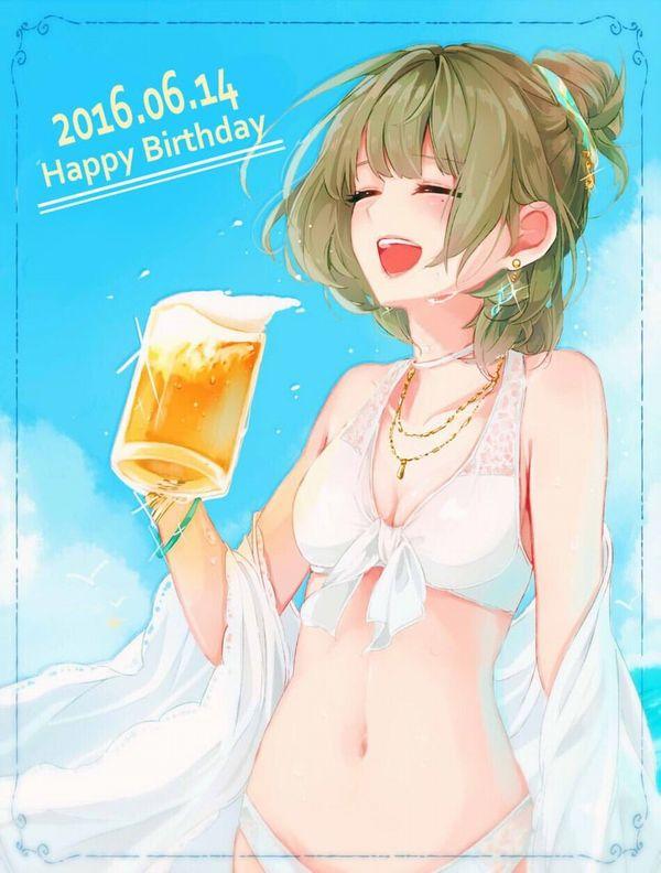 【風物詩】真夏の海で飲むビールってうめえよなぁ!?って二次画像【21】