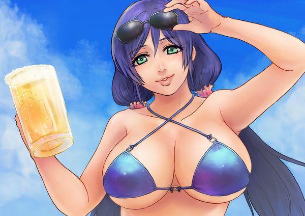 【風物詩】真夏の海で飲むビールってうめえよなぁ!?って二次画像【26】