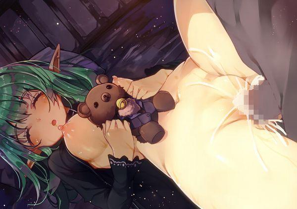 【暑い真夏の夜】寝てる女の子にちんちんを挿れてる二次エロ画像【20】
