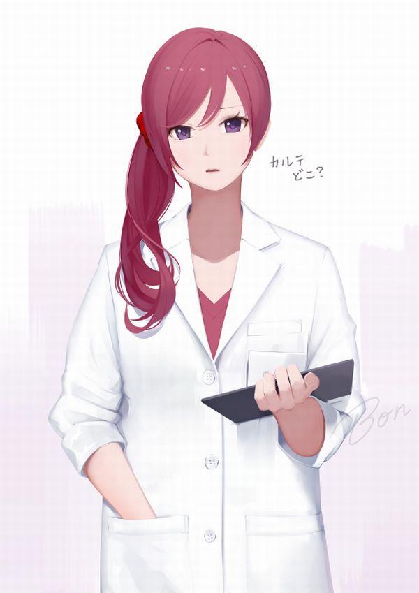 【チャレンジ女医】女性のお医者さんにエッチな看護されてる二次エロ画像【32】