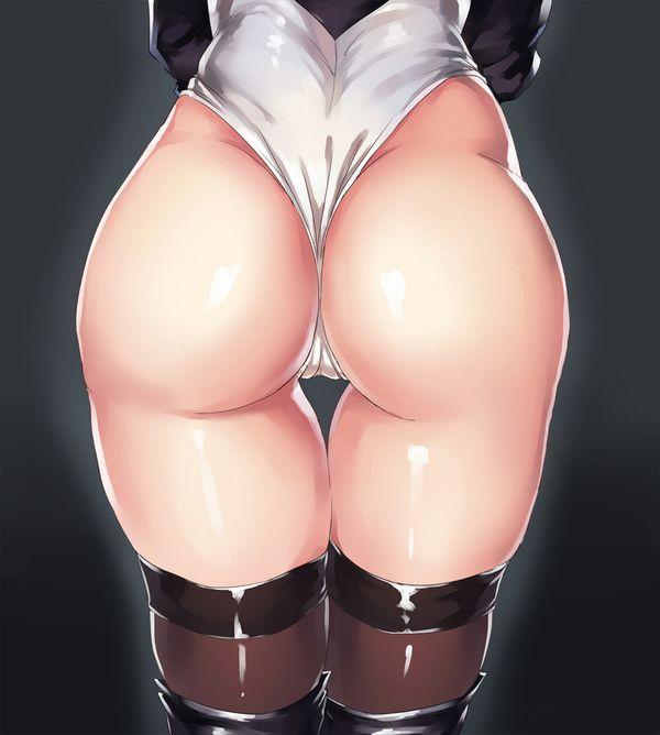 【汗まみれの肛門を】Tバック尻をアップで眺める二次エロ画像【くんかくんかしたい】【40】