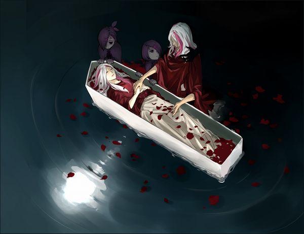 【これから埋葬かな?】棺桶と女の子の二次エロ画像【8】