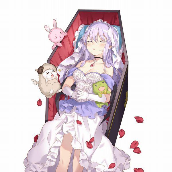 【これから埋葬かな?】棺桶と女の子の二次エロ画像【22】
