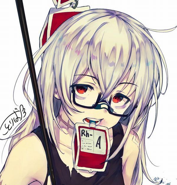 【鷲巣麻雀!?】血液袋と女の子の二次画像【6】
