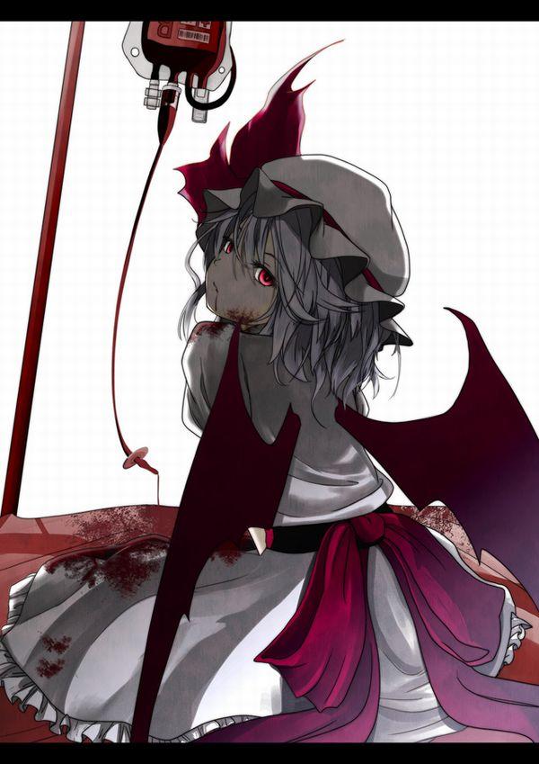 【鷲巣麻雀!?】血液袋と女の子の二次画像【9】