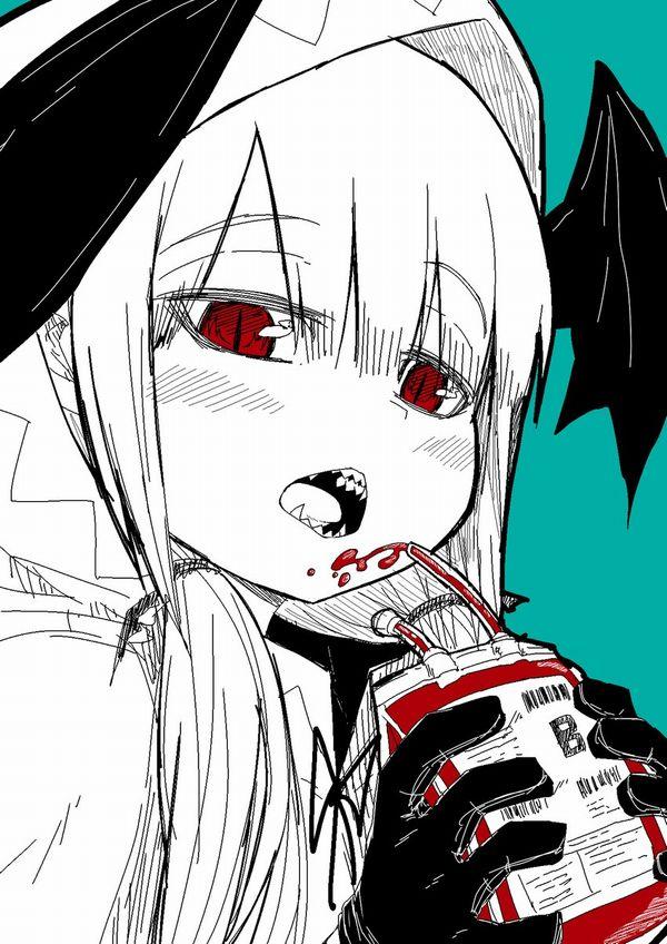 【鷲巣麻雀!?】血液袋と女の子の二次画像【22】