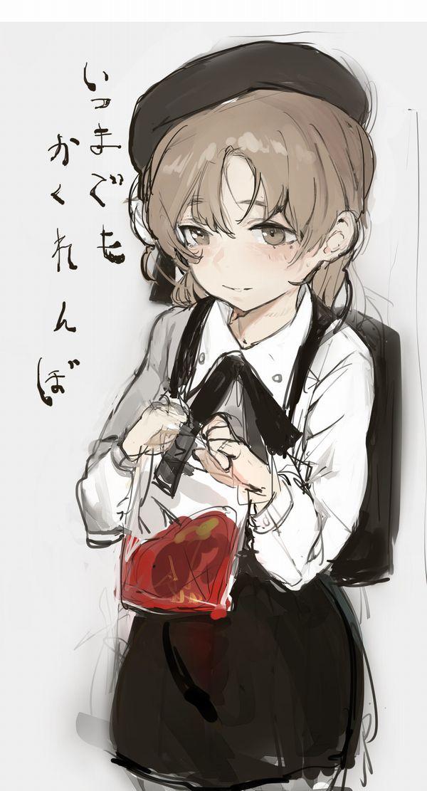 【鷲巣麻雀!?】血液袋と女の子の二次画像【29】