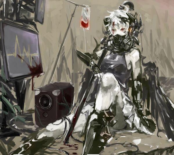 【鷲巣麻雀!?】血液袋と女の子の二次画像【31】