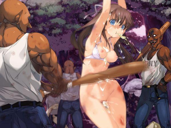 【吐けば楽になるゾ】敵に捕まって拷問を受けてる二次リョナ画像【7】