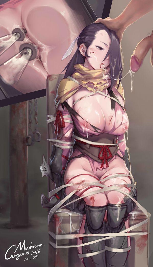 【吐けば楽になるゾ】敵に捕まって拷問を受けてる二次リョナ画像【9】