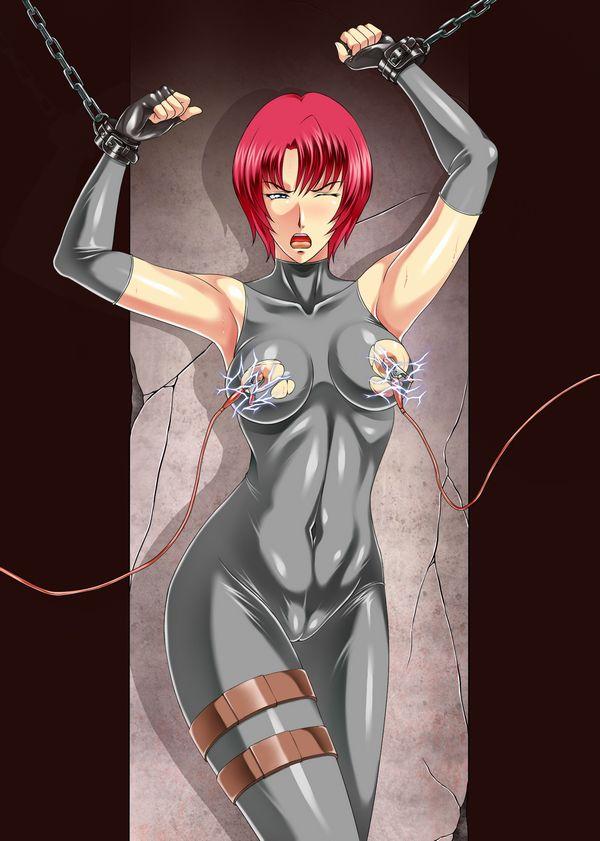 【吐けば楽になるゾ】敵に捕まって拷問を受けてる二次リョナ画像【36】