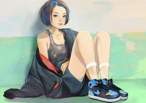 【ハイテクスニーカーブーム再来!】ナイキのスニーカーを履いた女の子達の二次画像【13】