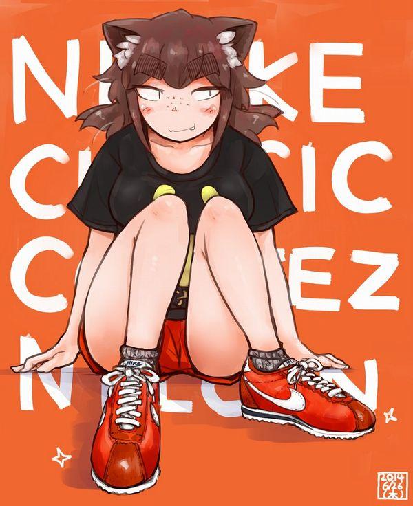【ハイテクスニーカーブーム再来!】ナイキのスニーカーを履いた女の子達の二次画像【18】