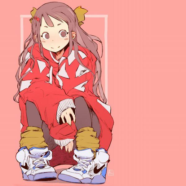 【ハイテクスニーカーブーム再来!】ナイキのスニーカーを履いた女の子達の二次画像【19】
