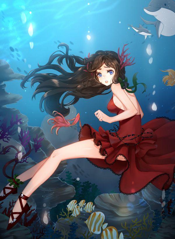 【キュキュキュ】イルカと美少女の二次画像【キュキュキュっキュー】【20】
