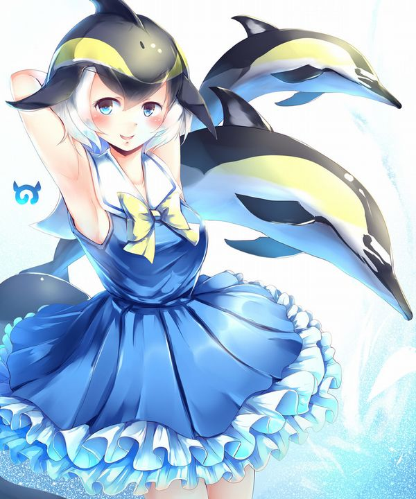 【キュキュキュ】イルカと美少女の二次画像【キュキュキュっキュー】【24】