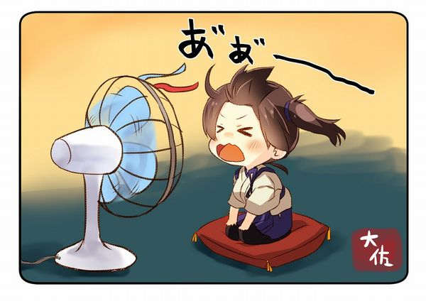 【みんな一度は通る道】扇風機に「ア゛ーーーッ」ってやってる女子達の二次画像【31】