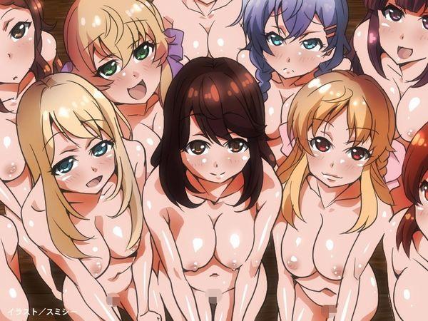 【男の存在しない世界】裸の女の子達がいっぱい!な、二次エロ画像【29】
