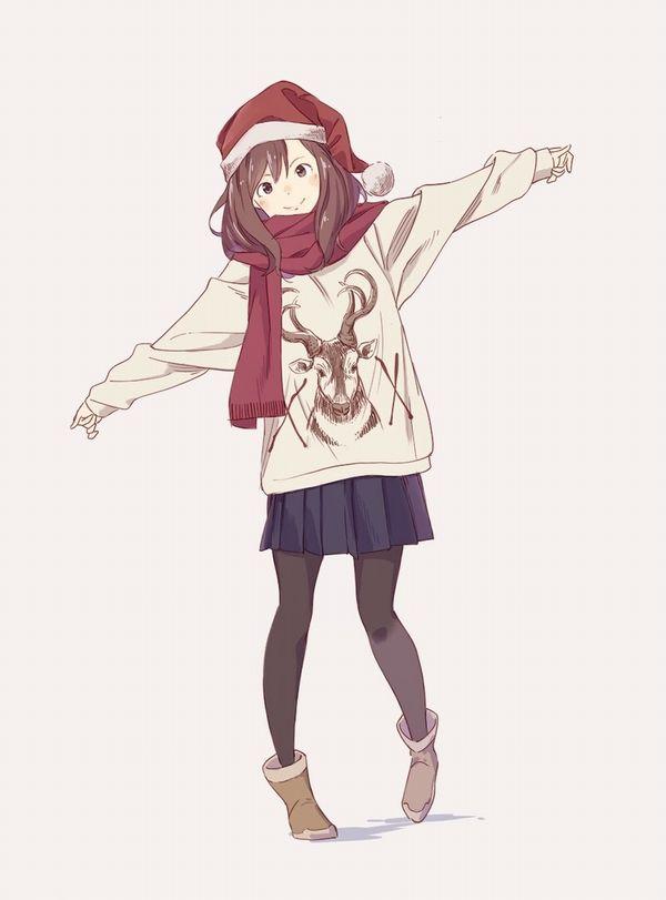 【⊂( ^ω^)⊃】両手を広げた女子達の二次画像【31】