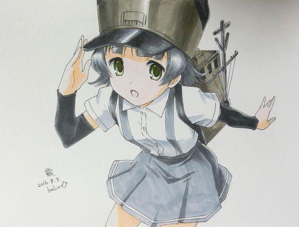 【艦これ】霰(あられ)のエロ画像【艦隊これくしょん】【23】