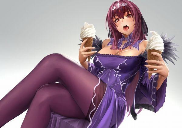 【マックなら100円】ソフトクリーム食べてる女の子達の二次画像【9】