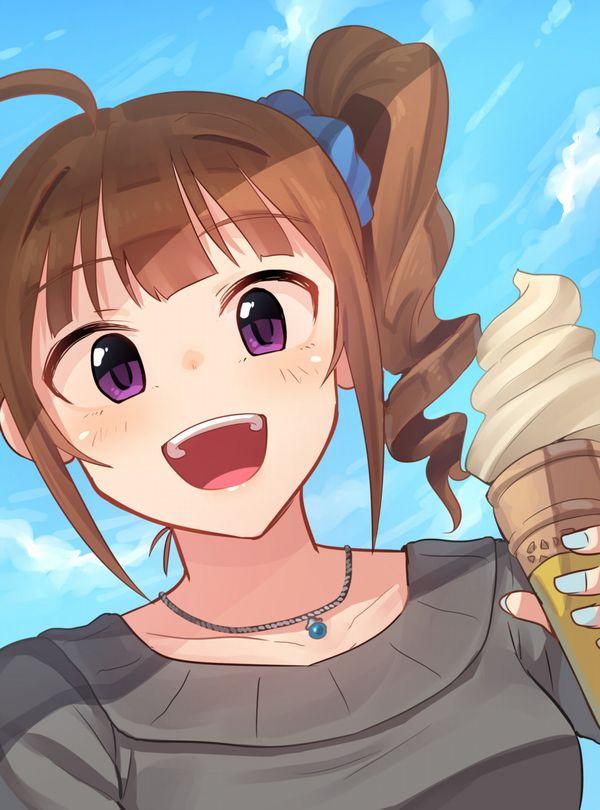 【マックなら100円】ソフトクリーム食べてる女の子達の二次画像【33】